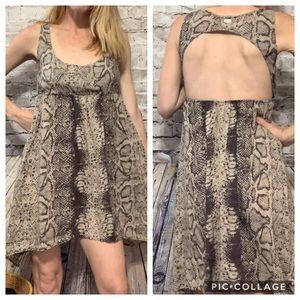 ‼️RVCA Snake Print High love Dress XS‼️